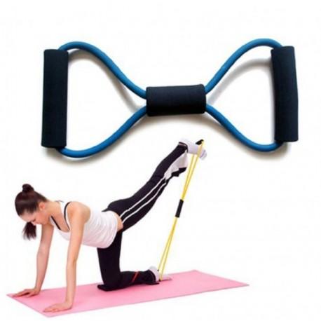 Posiľňovacia guma na cvičenie - modrá