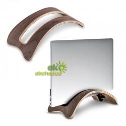 Drevený stojan na tablet / laptop / notebook / Macbook – orech (typ 2)