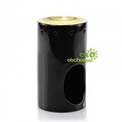 ASHLEIGH & BURWOOD keramická aromalampa BLACK & GOLD