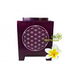 Aroma lampa Kvet života fialová