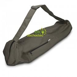 Bavlnená taška na športovú podložku pre cvičenie jógy - tmavo-šedá