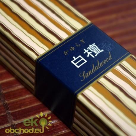 Vonné tyčinky - Kayuragi SANDALWOOD, Nippon Kodo