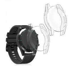 Silikónový obal Huawei Watch GT2 (46mm) – priehľadná (2ks)