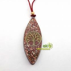 Orgonitový prívesok - Jaspisový strom