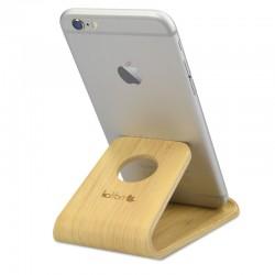 Drevený stojan pre mobily / tablety / čítačky e-kníh – Kalibri - bambus