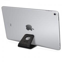 Drevený stojan pre mobily / tablety / čítačky e-kníh – Kalibri - dub čierna