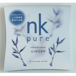 Vonné tyčinky - Pure GINGER, Nippon Kodo