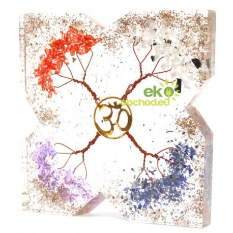 Orgonitový disk – 4 Stromy