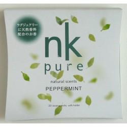 Vonné tyčinky - Pure PEPPERMINT, Nippon Kodo