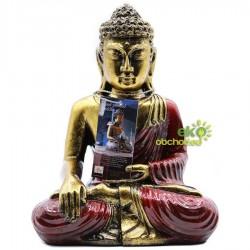 Buddha červeno-zlatý – Veľký