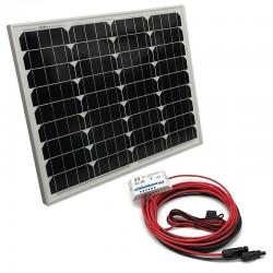 Solárny systém Maxx 50Wp 12V s PWM regulátorom