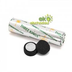 Kokosové uhlíky Three king - 1 valec