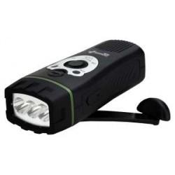 Dynamo LED baterka a rádio POWERplus - Wolf