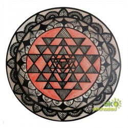 Dekoratívna samolepka - Jantra kruh