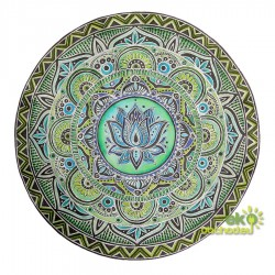 Dekoratívna samolepka - Mandala - Lotosový kvet