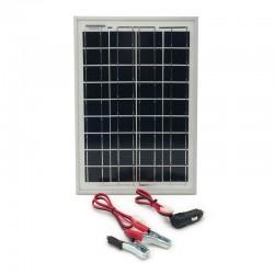 Solárna nabíjačka autobatérií 10W 12V polykryštál