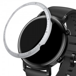 Rámček hodiniek (Bezel) pre Huawei Watch GT2 (42mm) – strieborná