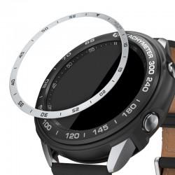 Rámček hodiniek (Bezel) pre Samsung Galaxy Watch 3 41mm – strieborná
