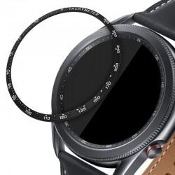 Rámček hodiniek (Bezel) pre Samsung Galaxy Watch 3 45mm – čierna