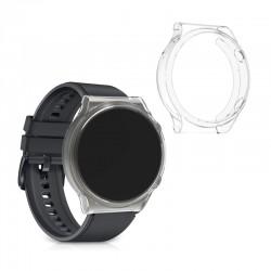 Silikónový obal Huawei Watch GT 2 PRO – priehľadná (2ks)