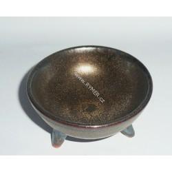 Kadidelnica keramická - miska medená